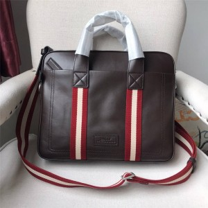 bally classic oil wax leather TEDAL MD business casual briefcase