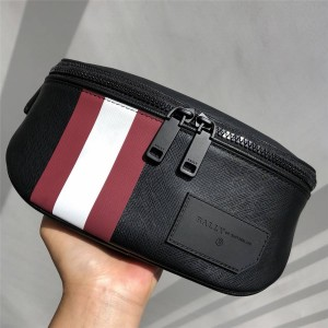Bally new men's Off Shore series Sonni waist bag chest bag