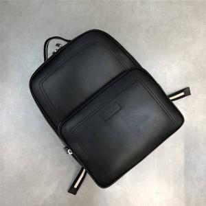 Bally official website men's TRANSFER.O calfskin backpack