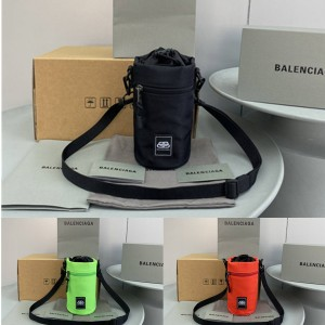 Balenciaga men's nylon Weekend water bottle bag 618193