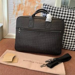 Bottega Veneta BV business men's bag woven handle single shoulder briefcase