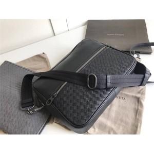 Bottega Veneta BV Togo leather hand-woven men's messenger bag 407638