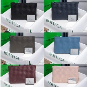 Bottega Veneta BV2020 new woven lambskin storage bag clutch