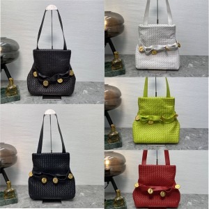 Bottega Veneta BV Women's Bag THE FOLD Handbag 642637