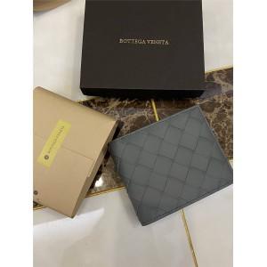 Bottega Veneta BV mid-width woven short wallet 605721