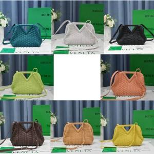 Bottega Veneta BV Losange quilted leather POINT handbag 661986