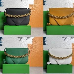 Bottega Veneta BV Lychee Pattern MOUNT Envelope Bag 667399/667398