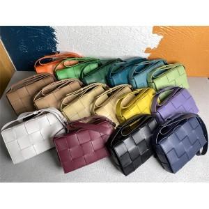 Bottega Veneta BV 25 color sheepskin CASSETTE handbag box bag 578004