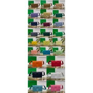 Bottega Veneta BV 24 color sheepskin CASSETTE handbag 578004