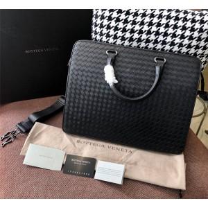 Bottega Veneta bv bag woven leather men's briefcase 98001