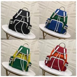Burberry official website medium color nylon nylon backpack 40765121