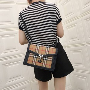 Burberry Small Vintage Check Leather Crossbody Bag 80063591
