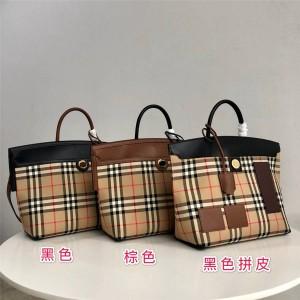 Burberry official website society vintage check serdi handbag 80230191/80231241