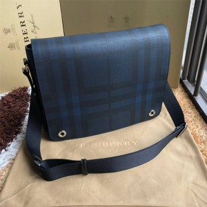 Burberry new trumpet London plaid diagonal backpack 80051661/80237081/80139491