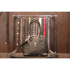 Chrome hearts CH official website sheepskin cross shell bag