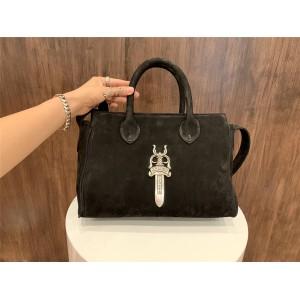 Chrome hearts CH official website handbags suede shoulder bag