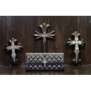 Chrome hearts CH diamond sheepskin sword and dagger clutch