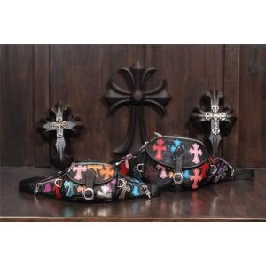 Chrome hearts CH new color cross waist bag chest bag