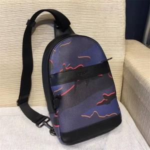 Coach official website men's bag new camouflage bag chest 31299