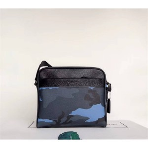 Coach men's bag new camouflage series casual diagonal shoulder bag 29052