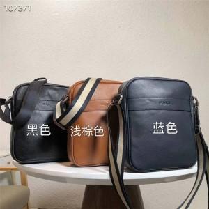 Coach official website authentic men's bag leather diagonal shoulder bag 71723