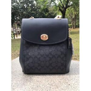 Coach ladies backpack PVC PARKER backpack bag 38585