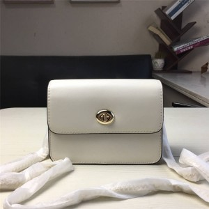 Coach handbag new leather bowery chain bag small square bag 31384