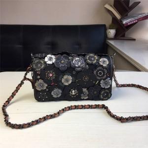 Coach 1941 series new Dinky inlaid tea rose chain bag 21586