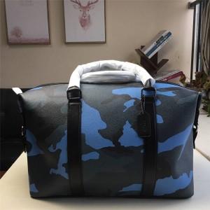 Coach men's bag new camouflage printing large handbag travel bag 29049