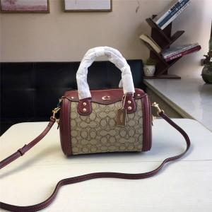 Coach handbag new Ivie Bennett Boston pillow bag F38112