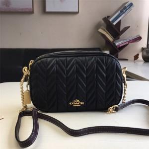 Coat handbag new leather wheat earrings rhinoceros camera bag F31459
