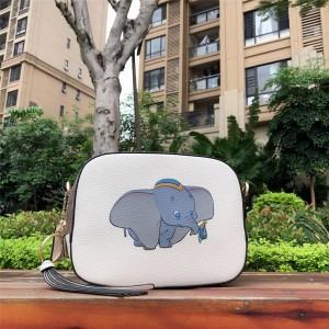 Coach handbag Disney series animal print small flying elephant camera bag 69252