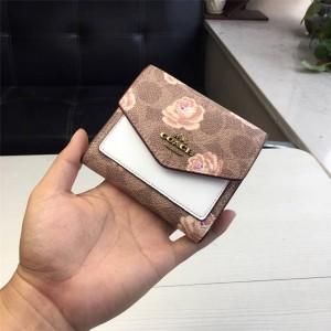 Coach wallet new printing 30% wallet 31917/31822