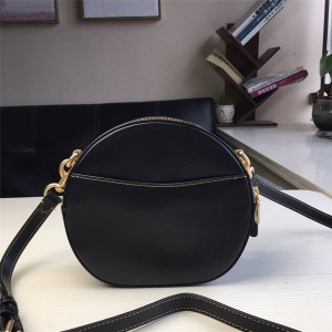 Coach handbag new CANTEEN full leather small round bag cosmetic bag 35844