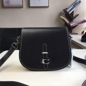 Coat handbag leather saddle diagonal shoulder saddle bag 54392/54202