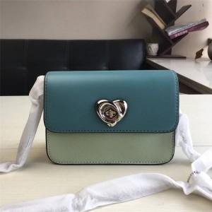 Coach handbag color matching shoulder slung chain bag small square bag 44963