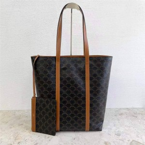celine MUSEUM logo print handbag shopping bag 194542