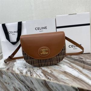 celine official website BESACE TRIOMPHE saddle bag 194152