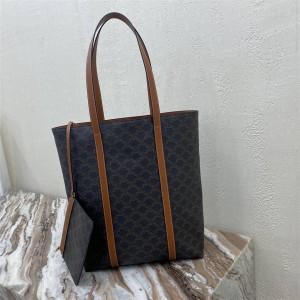 celine MUSEUM logo print handbag shopping bag 194542