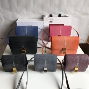 celine official website classic pearl fish skin classic box handbag