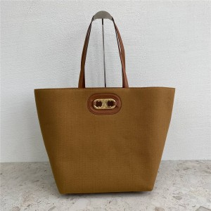 celine official website new Cabas tote canvas shopping bag