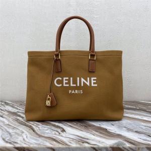 Celine CABAS CELINE horizontal printed canvas shopping bag 190062