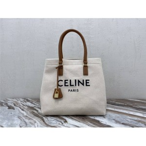 celine official website CABAS horizontal printing handbag 192162