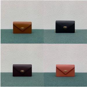 celine MAILLON TRIOMPHE WOC chain bag wallet 10F823
