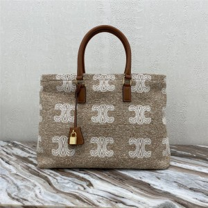 celine new CABAS printed LOGO canvas shopping bag 190062