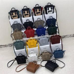 celine official website LUGGAGE NANO handbag 168243/189243
