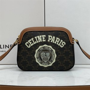 celine COLLEGE small logo print camera bag 191522