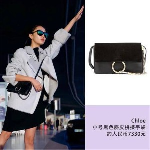 Chloe purchasing official website handbag small FAYE shoulder bag