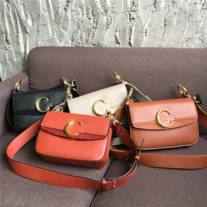 chloe official website new leather C Bag shoulder bag