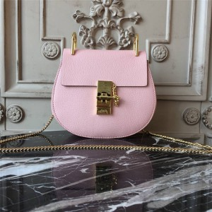 chloe official website classic leather Drew chain bag crossbody bag